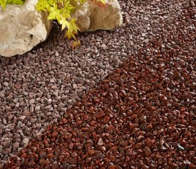 Red Chippings 14-20mm