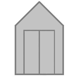 With Double Doors Upgrade in Silver