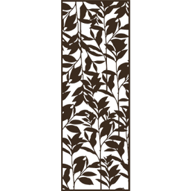 with Chestnut Brown Decor Panel