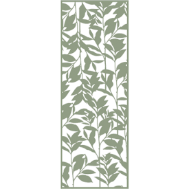 with Willow Green Decor Panel