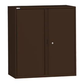 with Chestnut Brown Cupboard