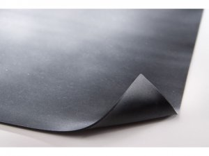 with Black EPDM Rubber Roof Material