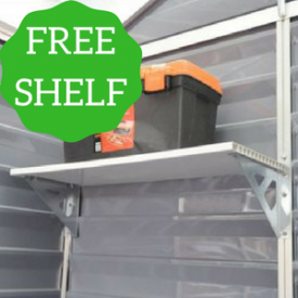 with Two FREE Skylight Storage Shelves