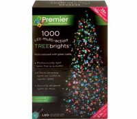with Premier 1000 Multi-Coloured LED TREEbrights™ for 7ft Christmas Tree