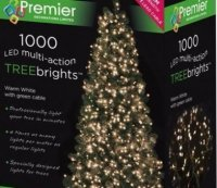 with Premier 1000 Warm White LED TREEbrights™ for 7ft Christmas Tree