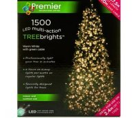 with Premier 1500 Warm White LED TREEbrights™ for 8ft Christmas Tree