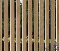 Pack of 2 Vertical Slat Panels