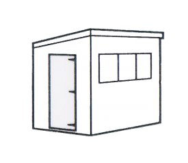 with Pent Door/Window Position A
