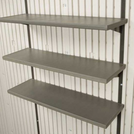with Triple Shelves 30ins (2.5ft) Long x 10ins Wide