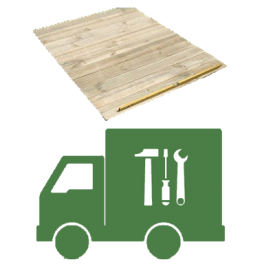 with Extra Installation of Timber Floor Kit