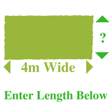 Metres in Length at 4m Wide