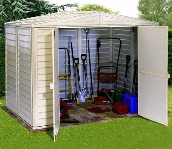 Duramax Plastic Shed