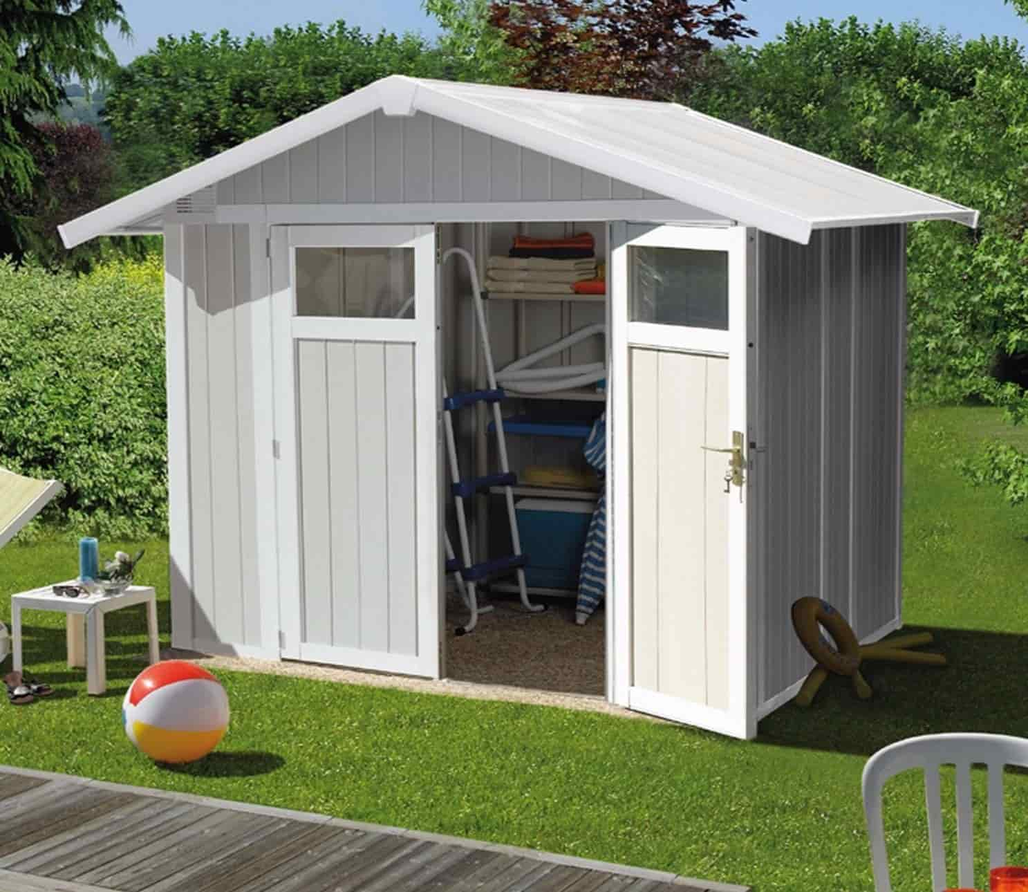 Plastic sheds guide for Garden sheds built on site