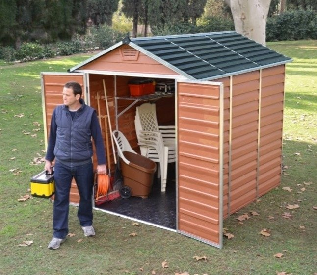 Palram Plastic Shed