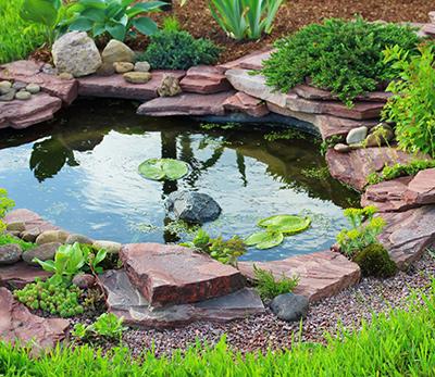 How to Build a Garden Pond - GardenSite co uk