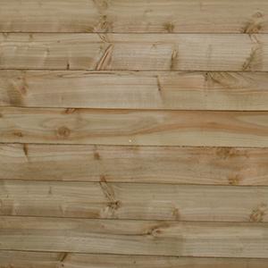 Pressure treatment on wood