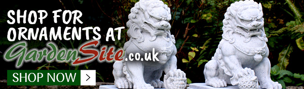 Click here to shop for garden ornaments at Gardensite.co.uk