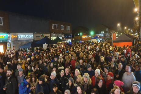 Boldmere Winter Festival Crowd