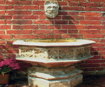 Chilstone Gothic Wall Fountain