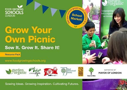 Food Growing Schools London Logo