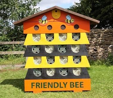 Multi Coloured Bee Hive