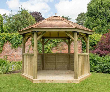 Forest Hexagonal Gazebo