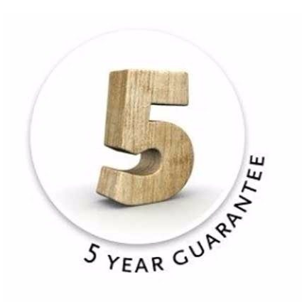 Lugarde cabin 5 year guarantee.
