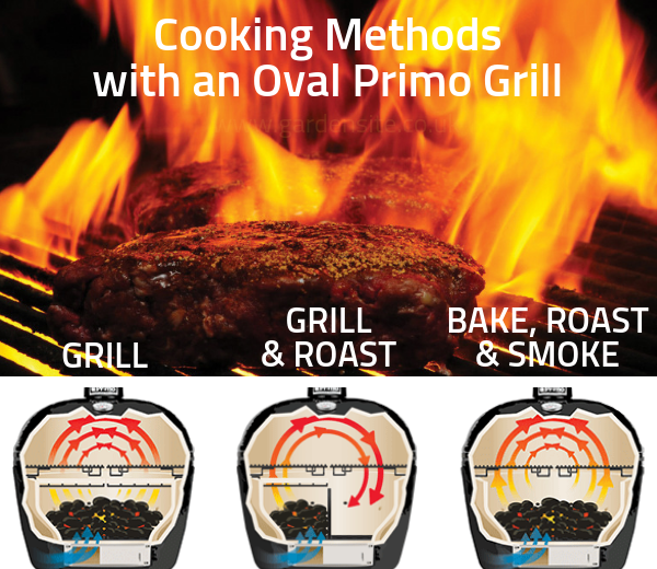 Ways to cook with a Primo Grill
