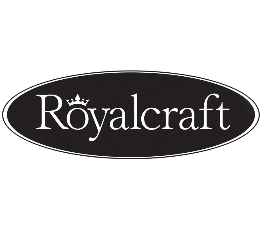 Royalcraft garden furniture brand logo.