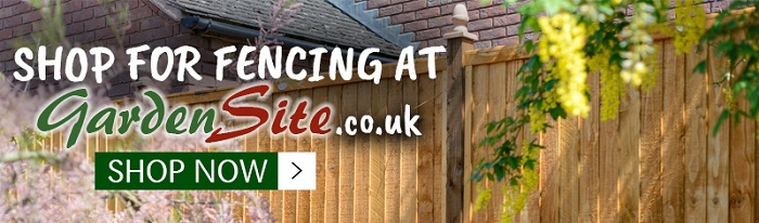 Click Here To Shop For Fencing at Gardensite.co.uk