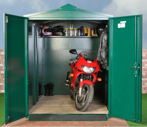 Asgard Motorbike Secure Garage