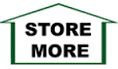 StoreMore shed brand logo.