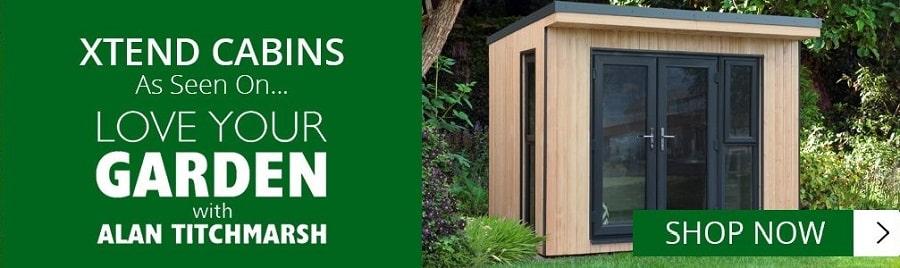 Banner for Forest Garden Xtend Log Cabins