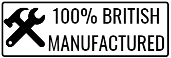 100% British Manufactured