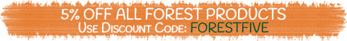 Get 5% off Forest Products with Discount Code FORESTFIVE