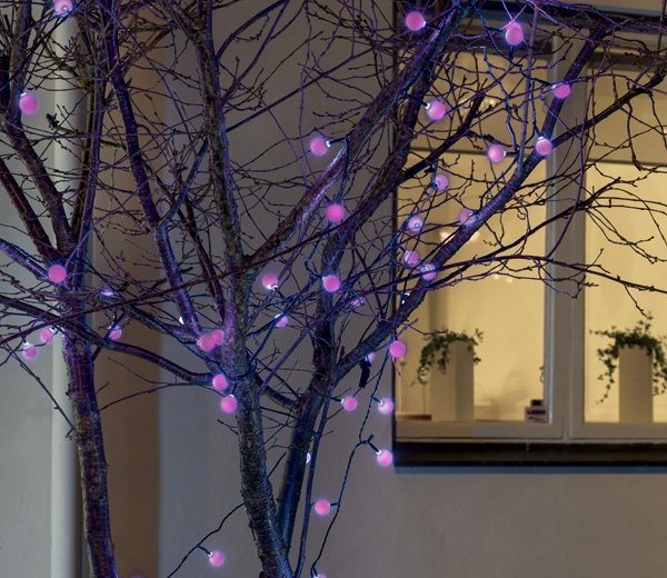 Christmas Multicoloured Colour Changing Cherry LED Lightset