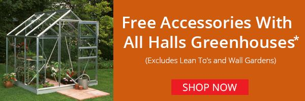 Free Greenhouse Accessories