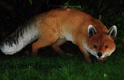 Vivid Arts Fox Ornament